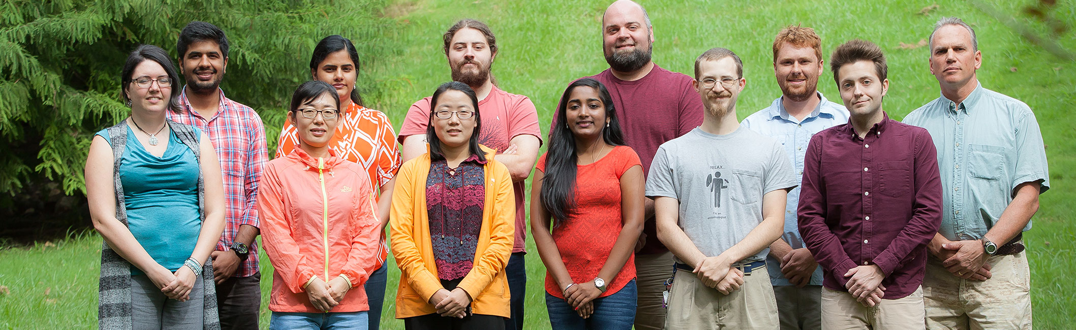 Group Photo - Fall Class 2017 Graduate Students