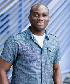 Portrait, Dr. Bode Olukolu