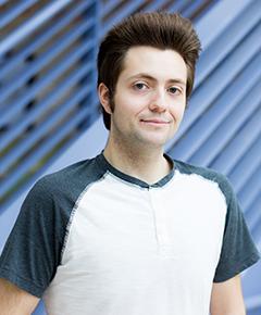 Portrait of Nick Strange